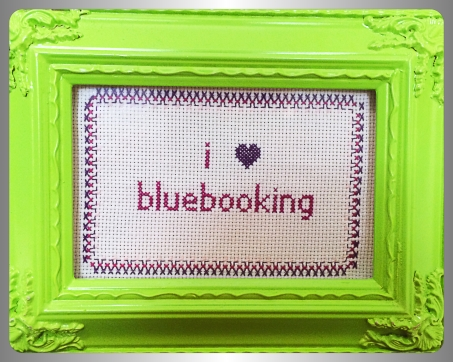 I heart bluebooking